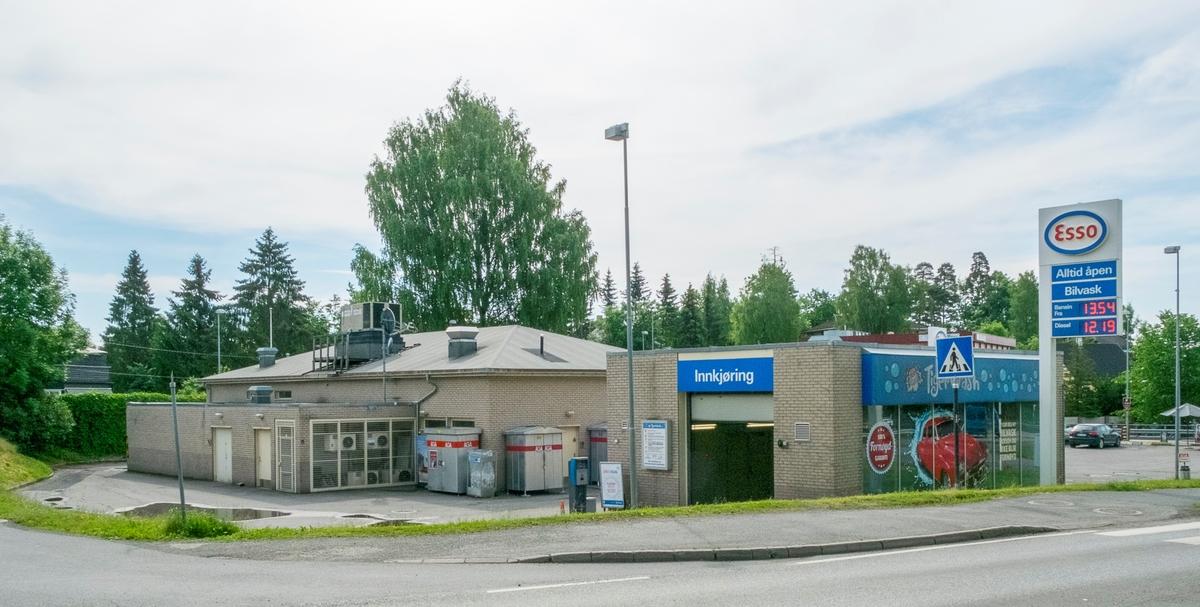 Esso bensinstasjon Bærumsveien Haslum Bærum