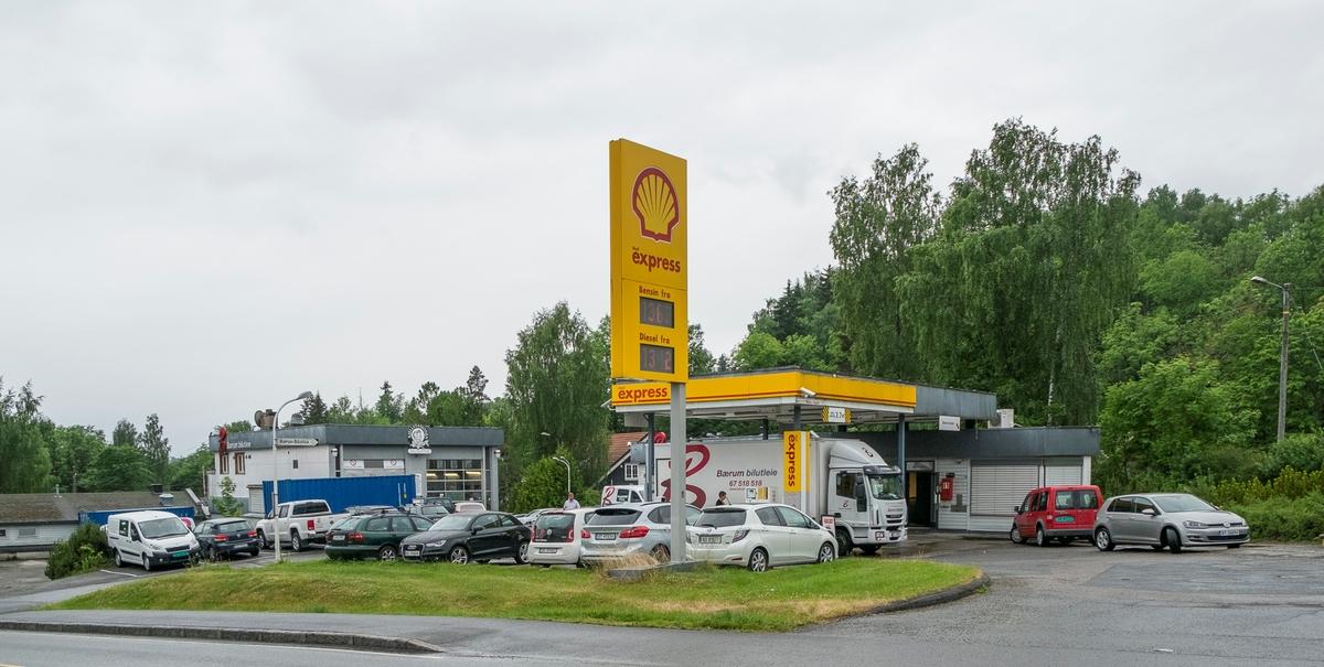 Shell express bensinstasjon Kirkeveien Haslum Bærum