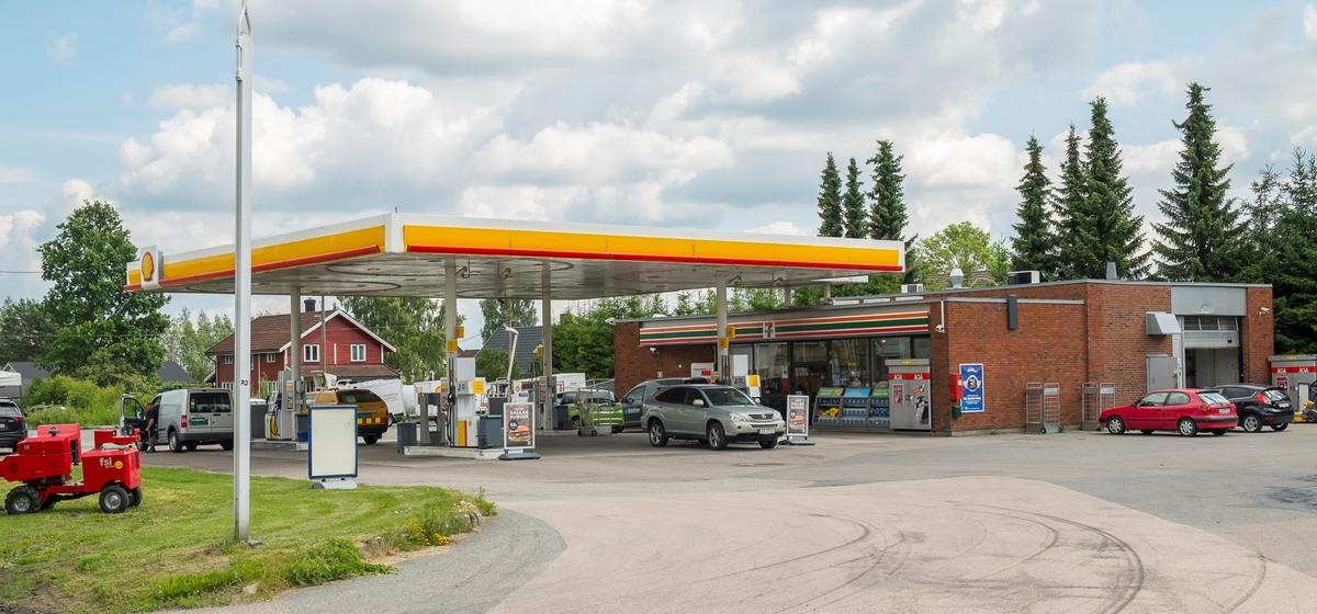 Shell bensinstasjon Kongsvingervegen Ullensaker