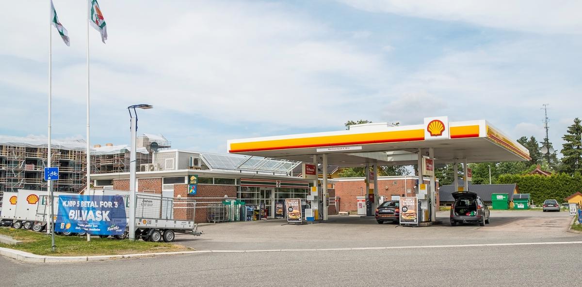 Shell bensinstasjon M.Jul Halvorsensvei Jessheim Ullensaker