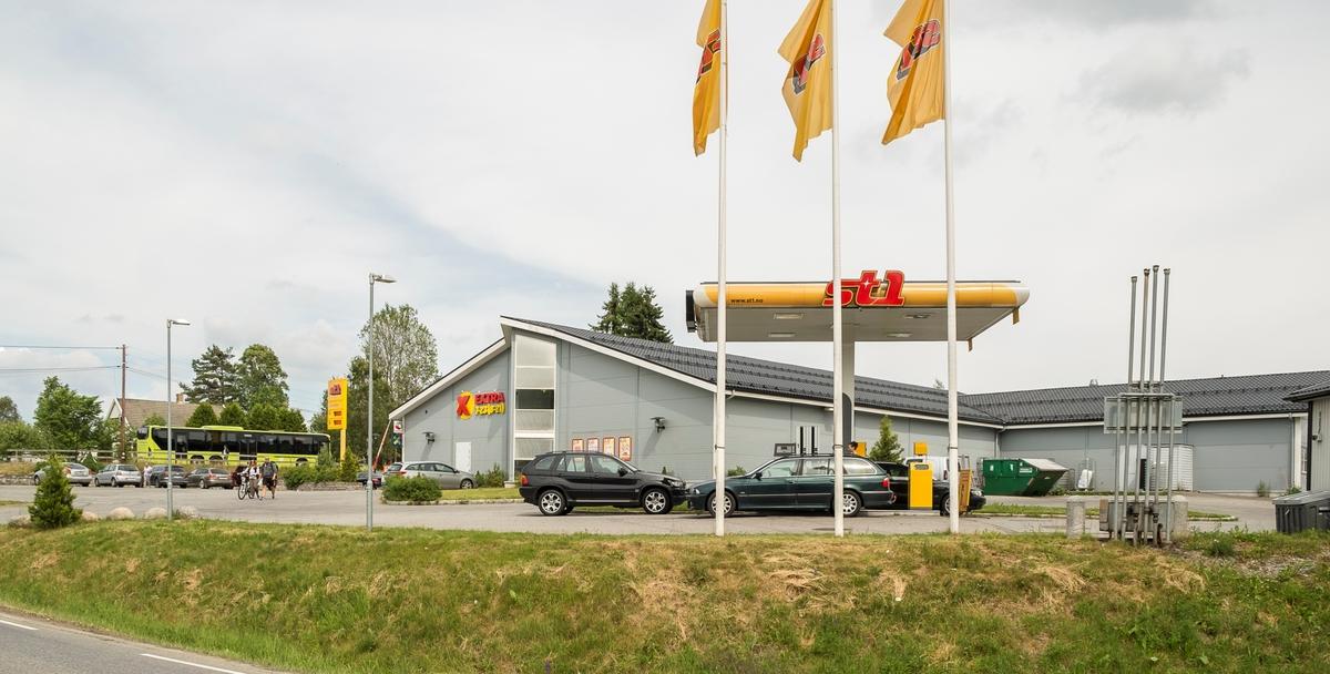 St1 bensinstasjon Algarheimsveien Jessheim Ullensaker
