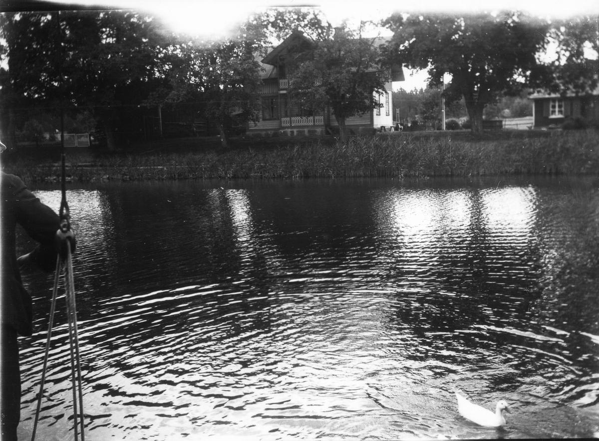 Göta kanal, okänt motiv. Foto 1923.