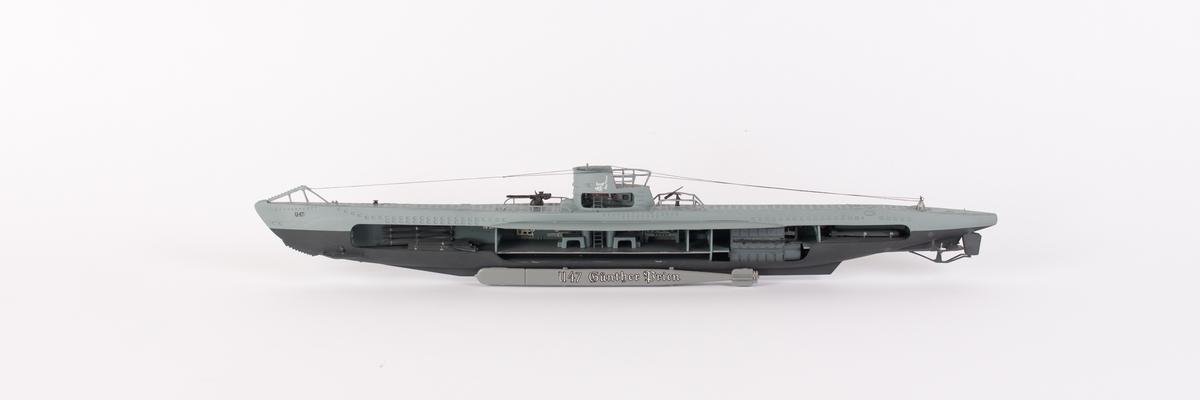 Ubåt U-47 tysk ubåt.