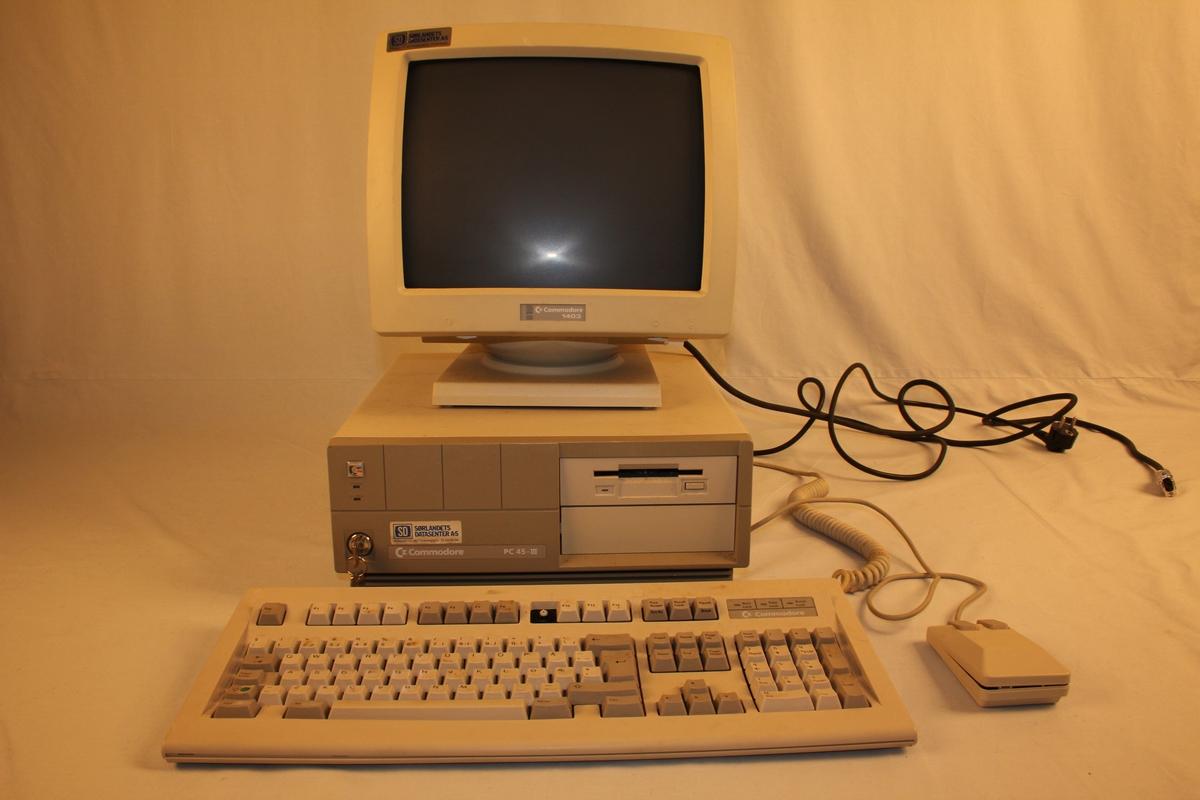 Datatastatur Setesdalsmuseet DigitaltMuseum