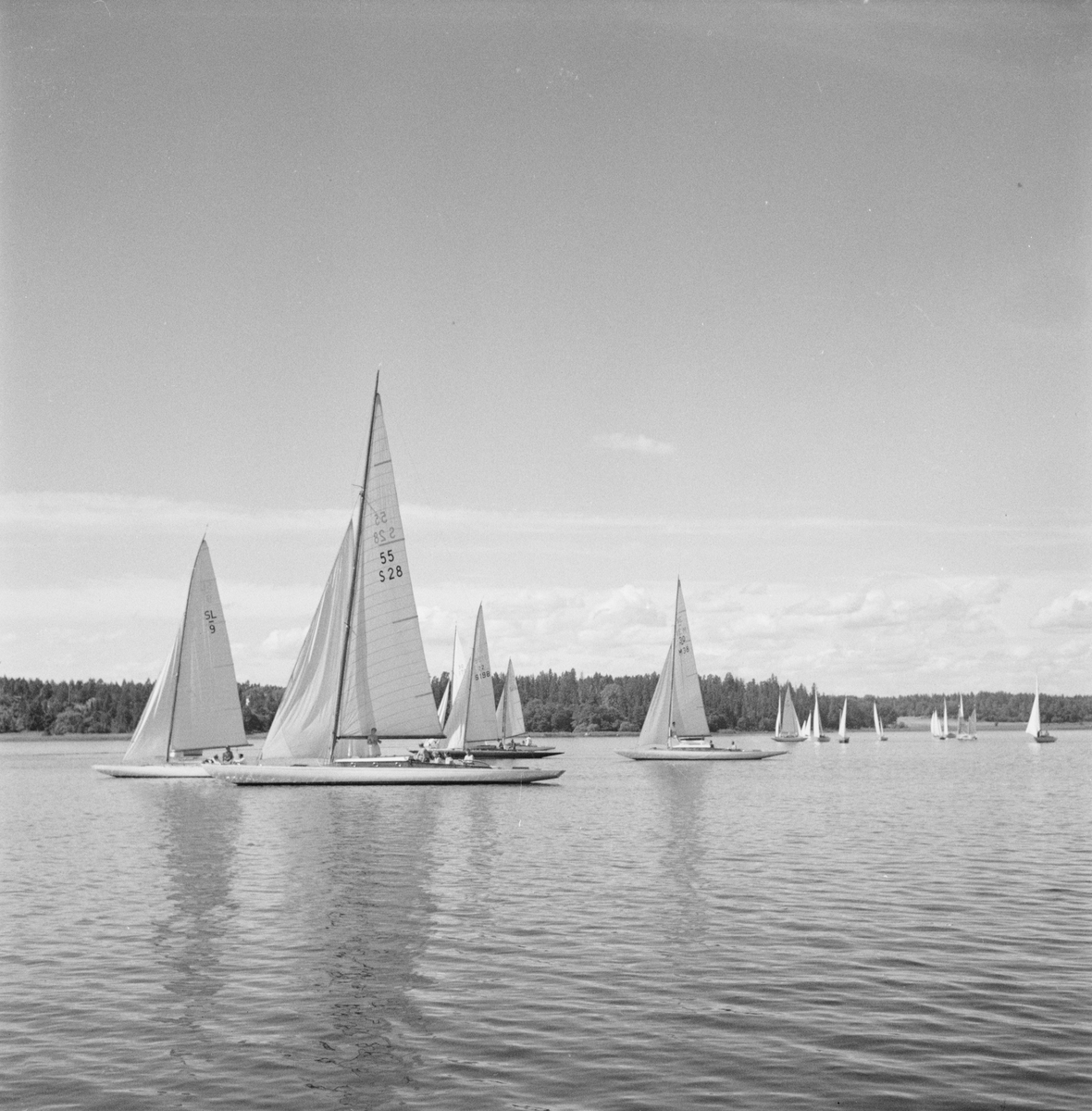 Segling, Uppland 1949