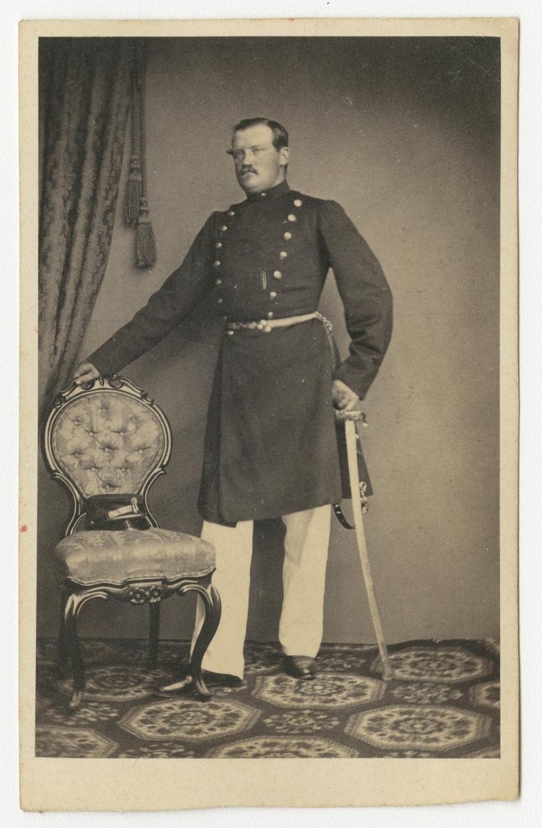 Porträtt av Gustaf Henrik Esaias Tegnér, underlöjtnant vid Bohusläns regemente I 17.