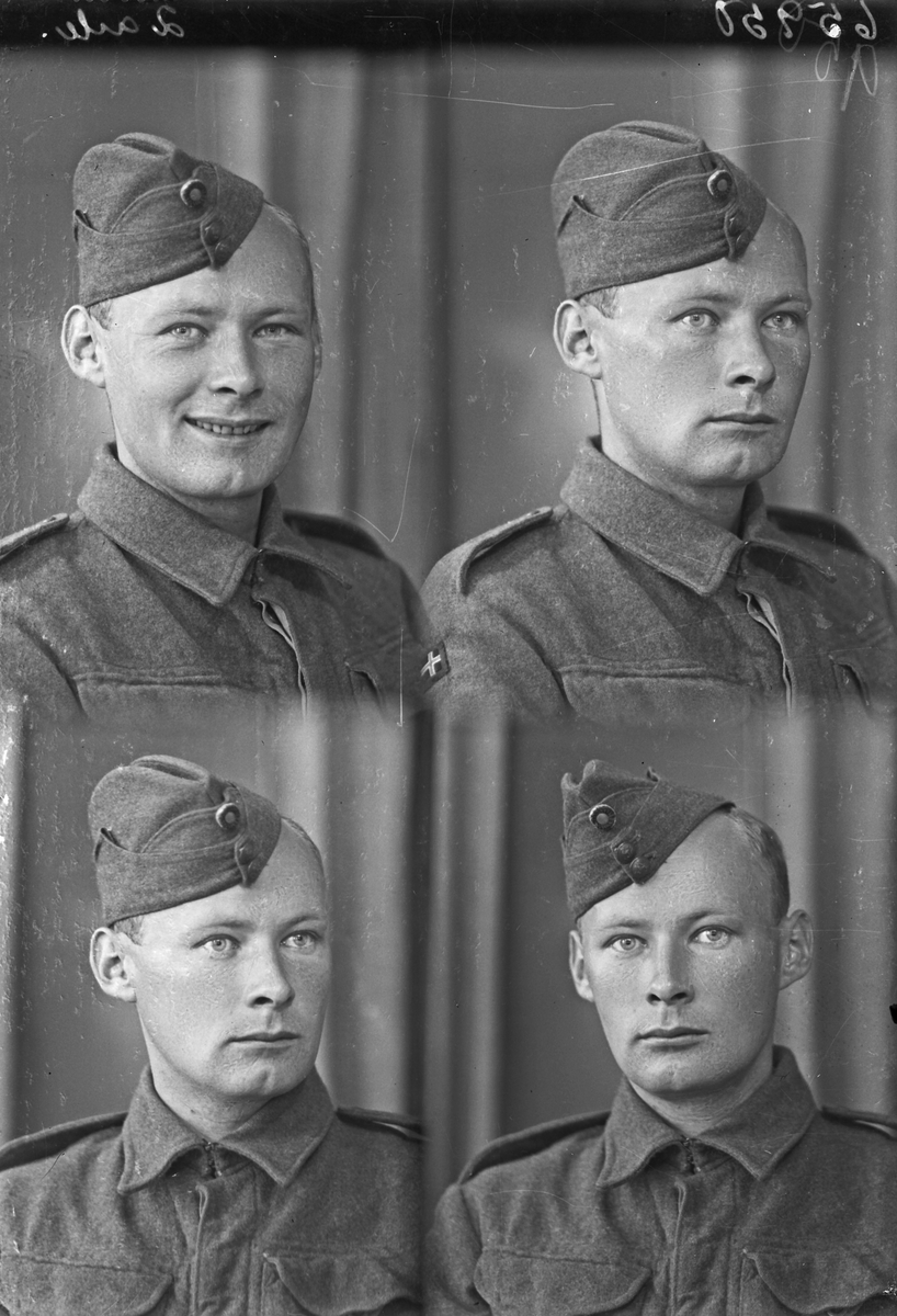 Portrett. Ung mann med militæruniform. Bestilt av Hr. Ingolf Lothe. Sørhaugt. 186.