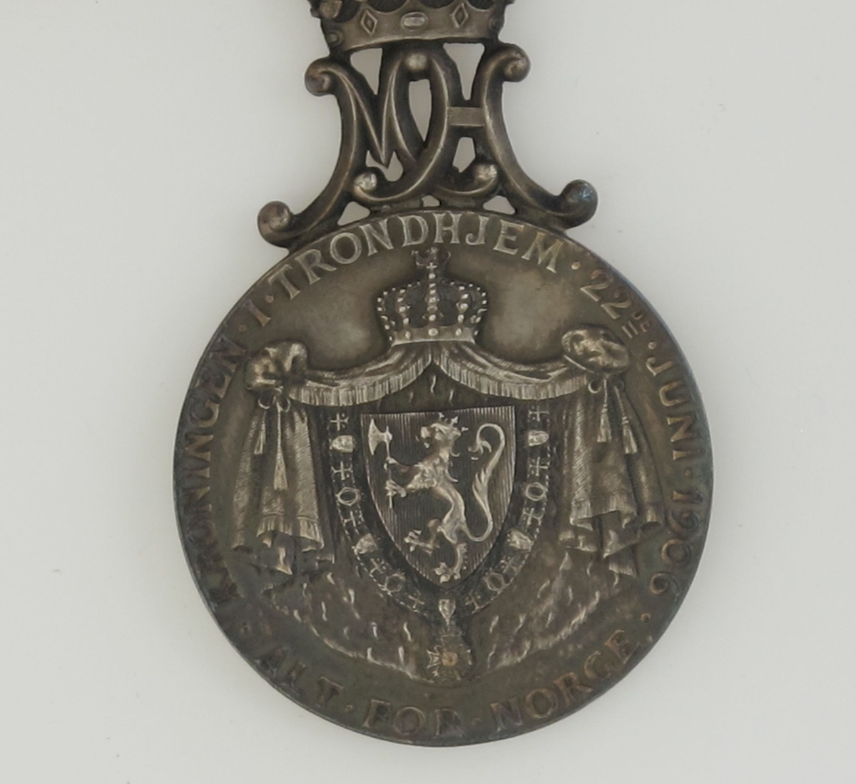 Bronsemedalje fra Amtsutstillingen i Arendal 1900.