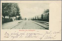 Ballingslöv station.