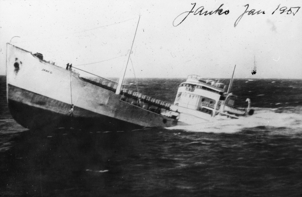 MS JANKOs forlis i 1951