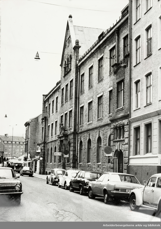 Grønland politistasjon. Mai 1978
