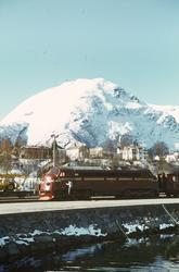 Diesellokomotiv tye Di 3 nr. 641 på Åndalsnes stasjon.
