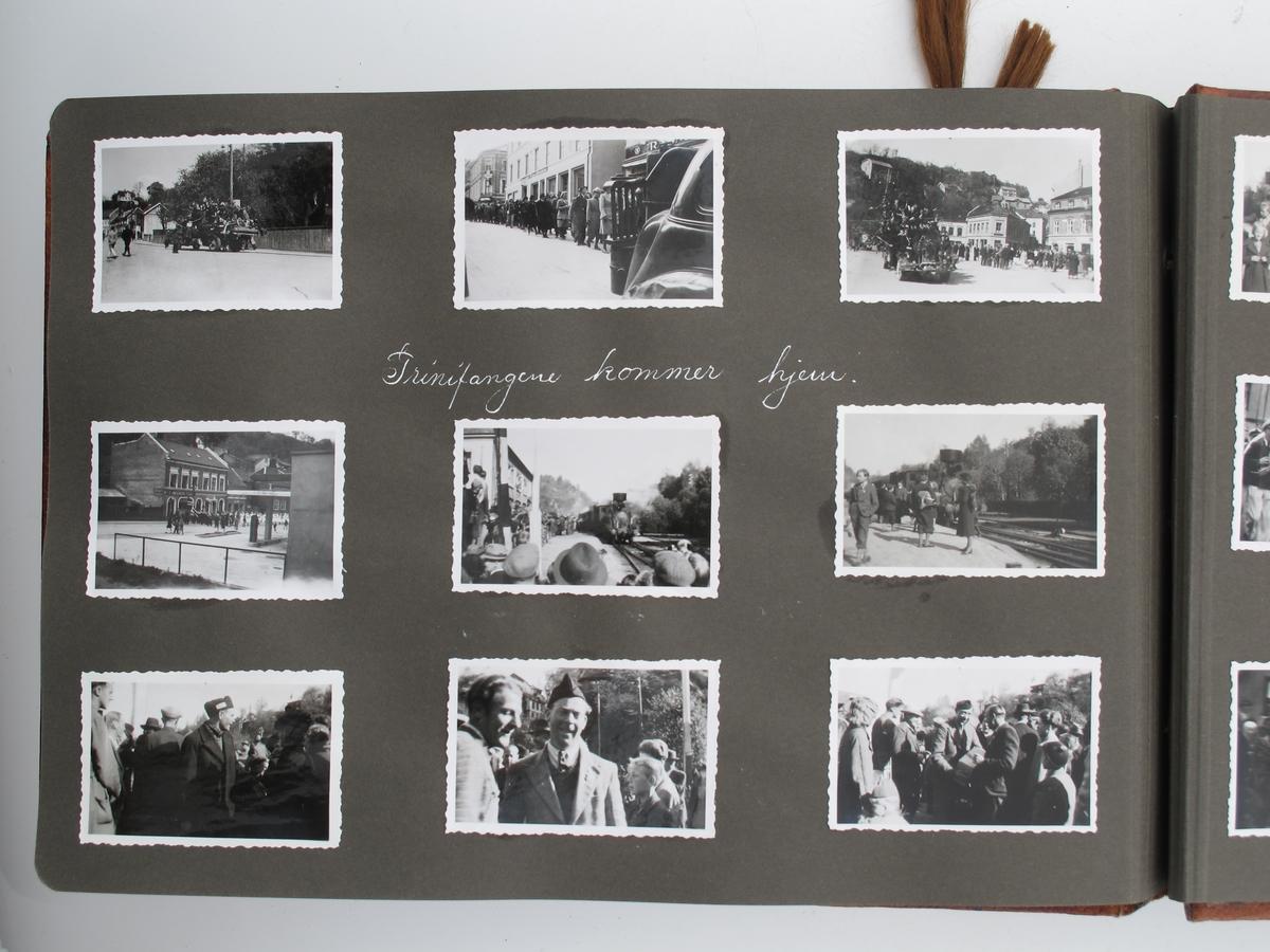 Friluftsliv i Arendalsområdet, sykkelturer, frigjøringen 1945.