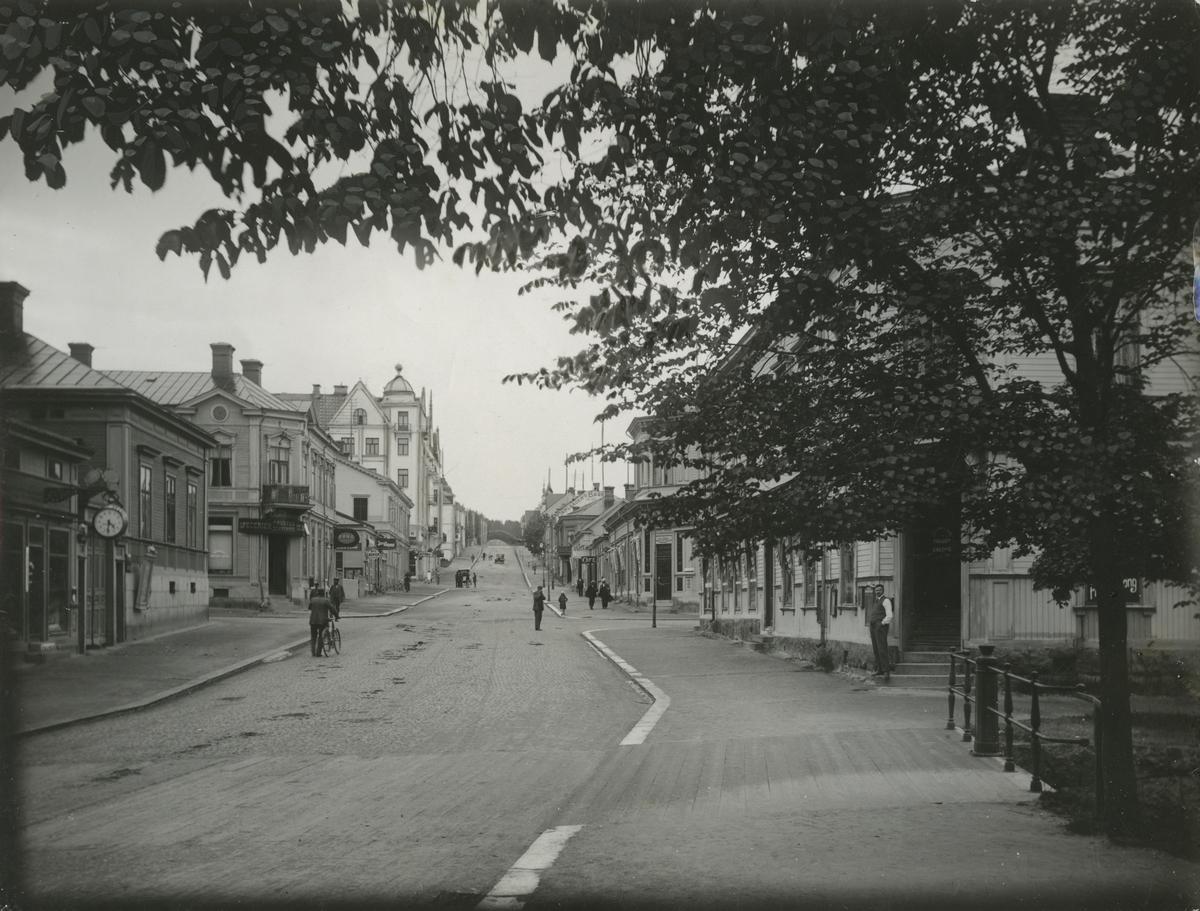Storgatan i Hudiksvall.