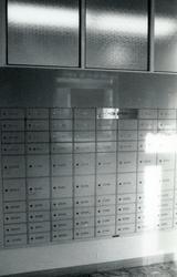 Dokumentatin av postkontoret Halmstad 2, Badhusgatan 4, Halm