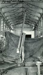 Luftvernkanon 7,5 cm. 5. Utstilling i A-hallen.