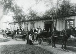 Værnes Prestegård 1916