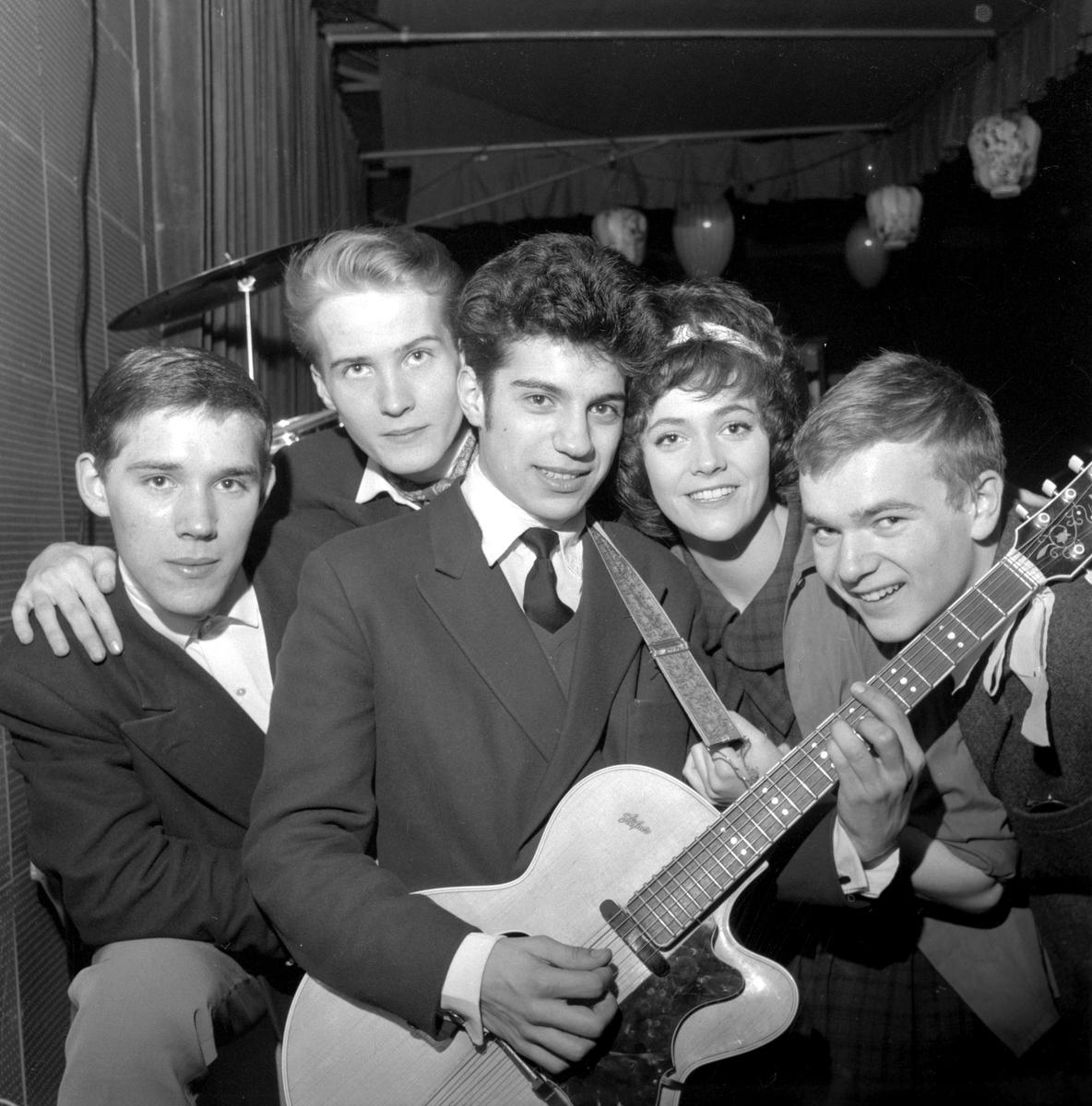 Kingside på Idrottshuset. 19 februari 1959.