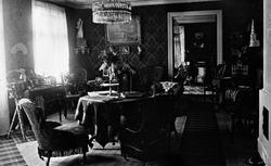 Gustaf Halléns och hans hustru Anna Kristina Blomnells hem i