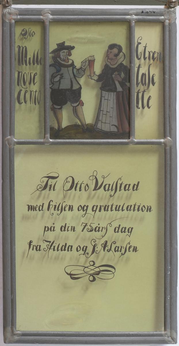 Par i renessansedrakter