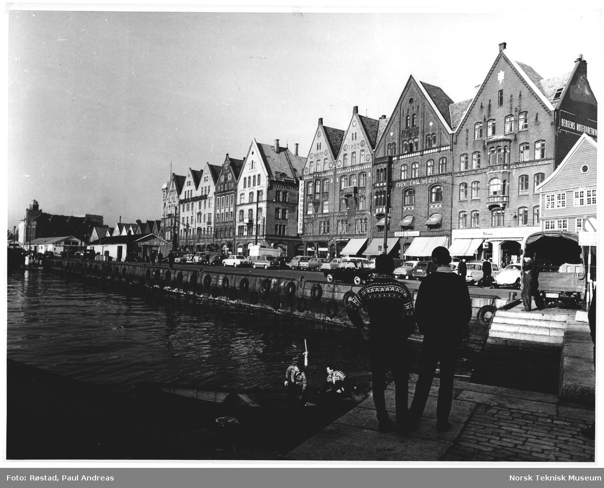 Fiskebryggen fra Vågen, Bergen