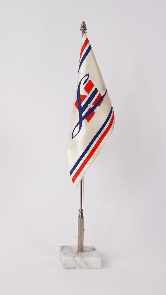 Vimpel med motiv av bokstaven NL