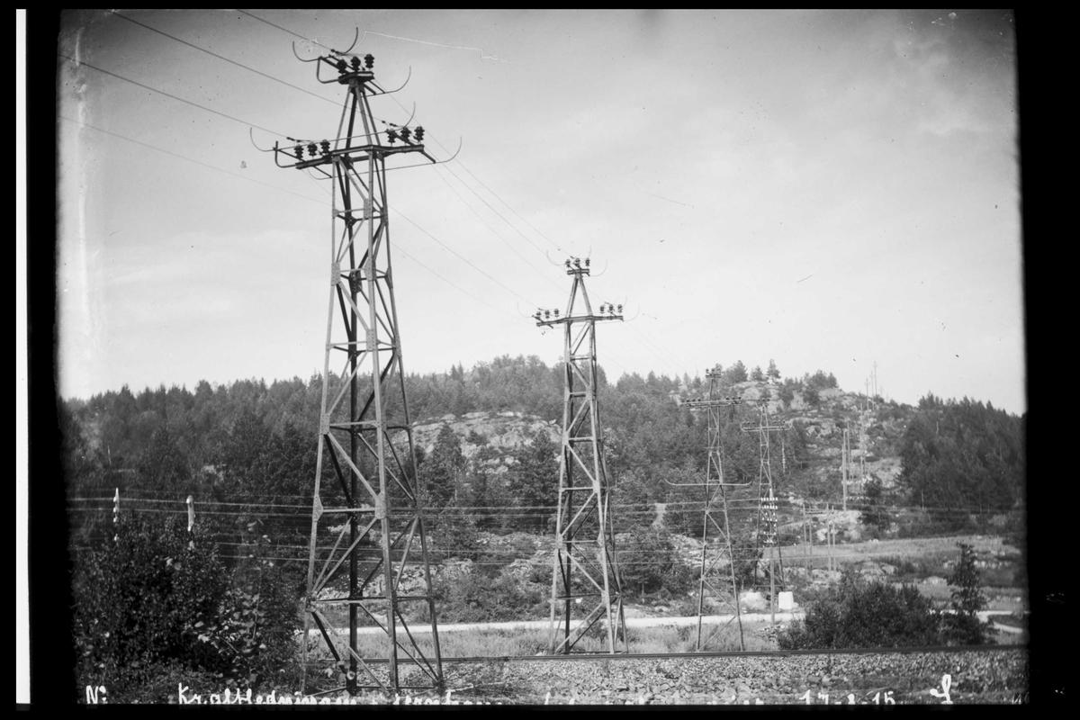 Arendal Fossekompani i begynnelsen av 1900-tallet CD merket 0565, Bilde: 91 Sted: Rygene Beskrivelse: Kryssing ved Solborg
