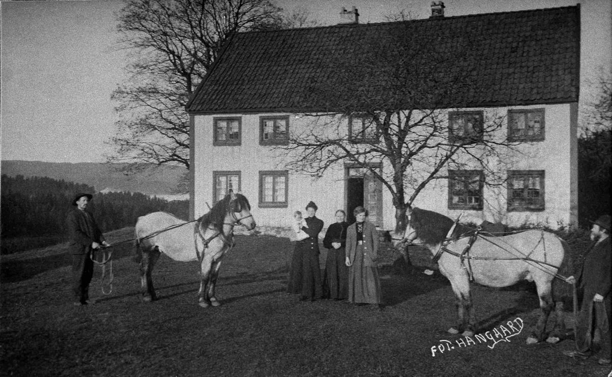 Bilder fra Birkenes kommune Øygard før 1914
