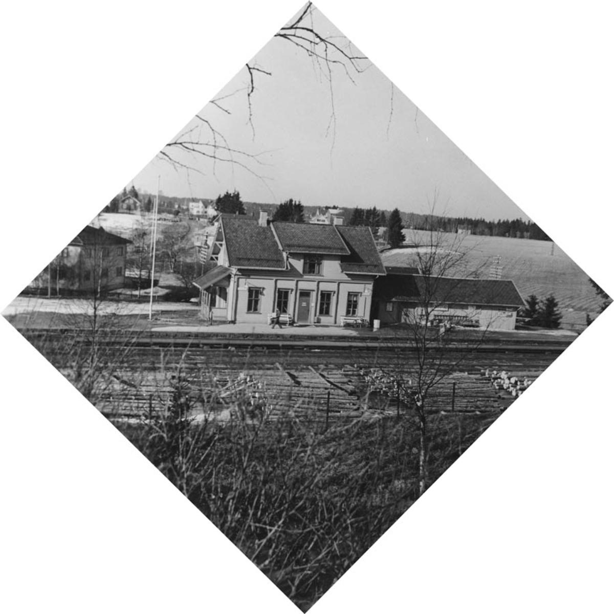 Kråkstad stasjon.