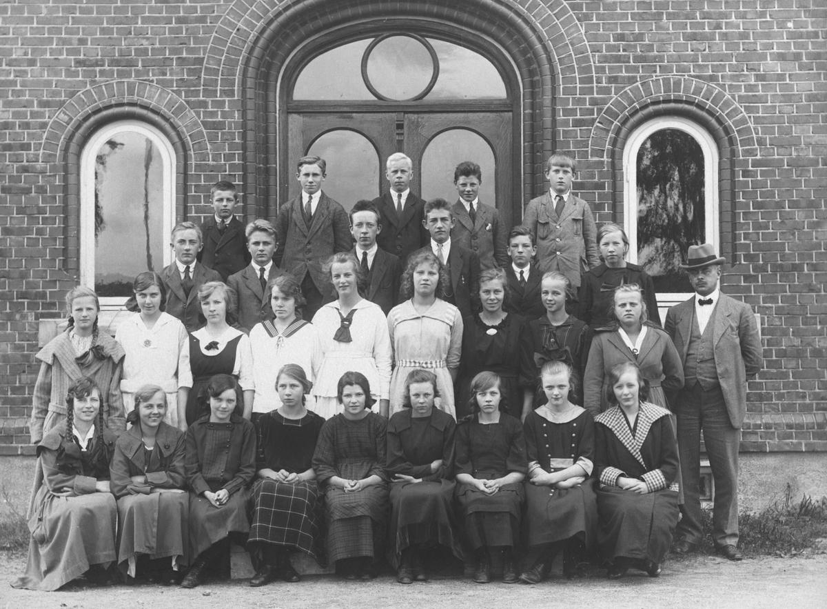 Ås kommunale høiere almenskole opprettet i 1916 på Åsgård.