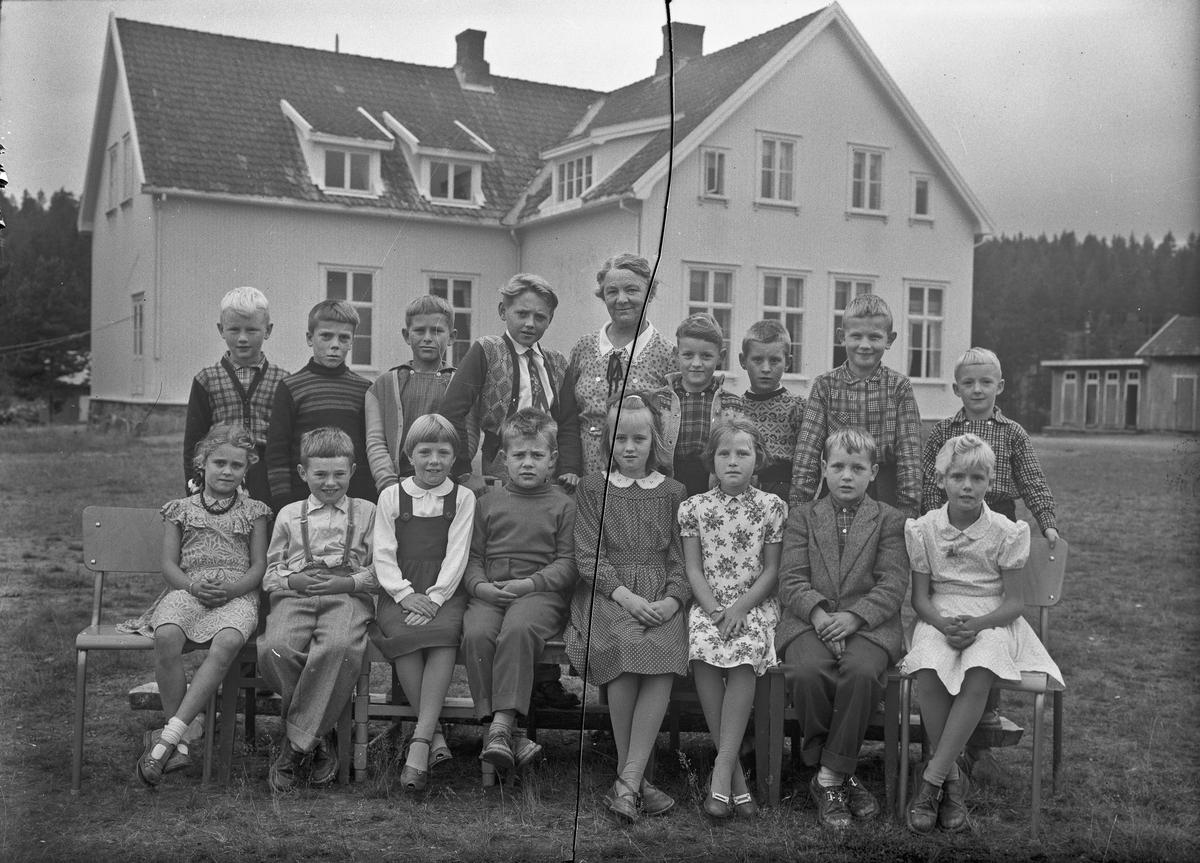Skolebilde. Gullverket skole.