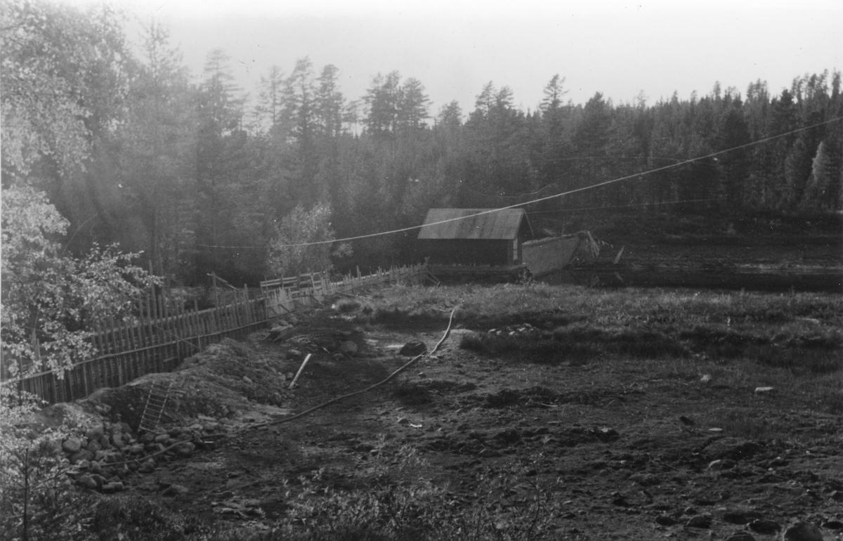Stavåsdammen tørkesommeren 1948
