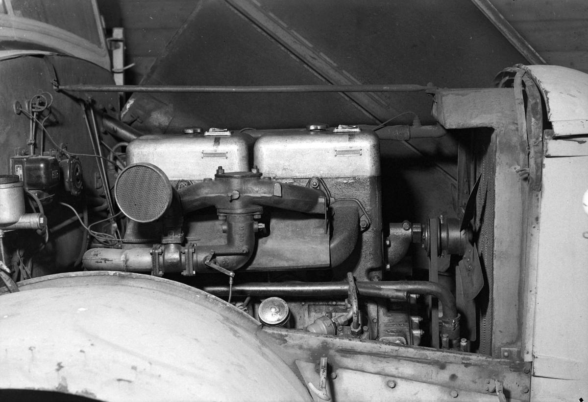 Motor i Vomag lastebil for Maskinagentur