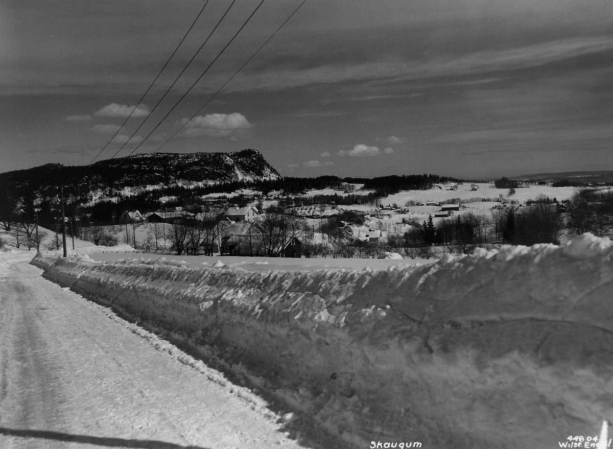 Vinter, Landskap