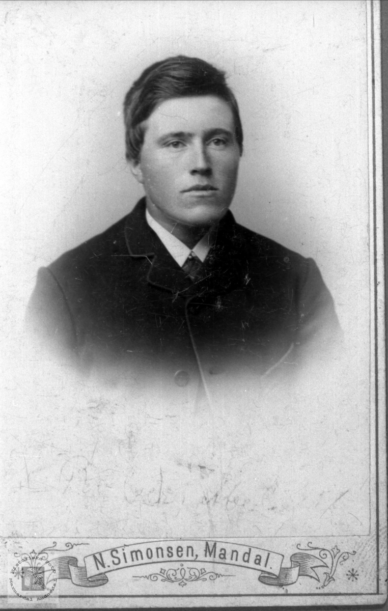 Portrett Knut Strisland Abelseth, Bjelland.