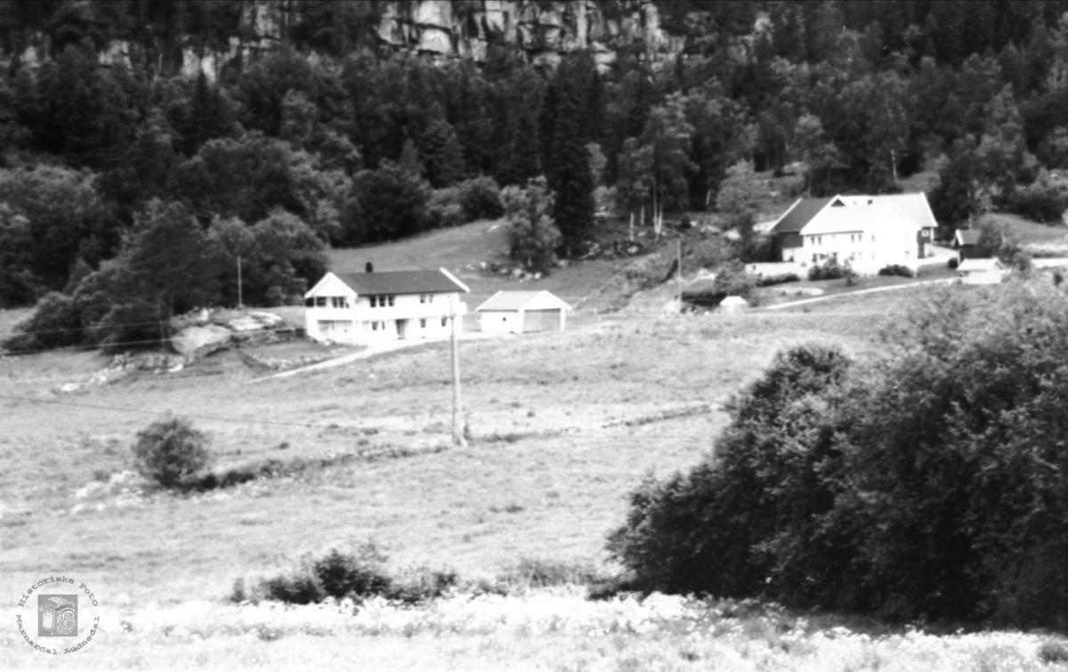 "Garden ""Nedre Lunnan"" på Foss i Bjelland."