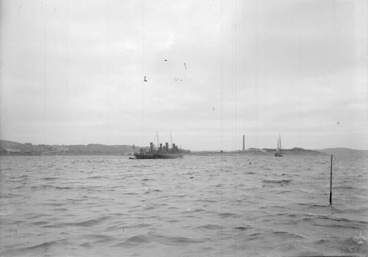 Torpedbåtarna METEOR och STJERNA vid Lysekil 1899