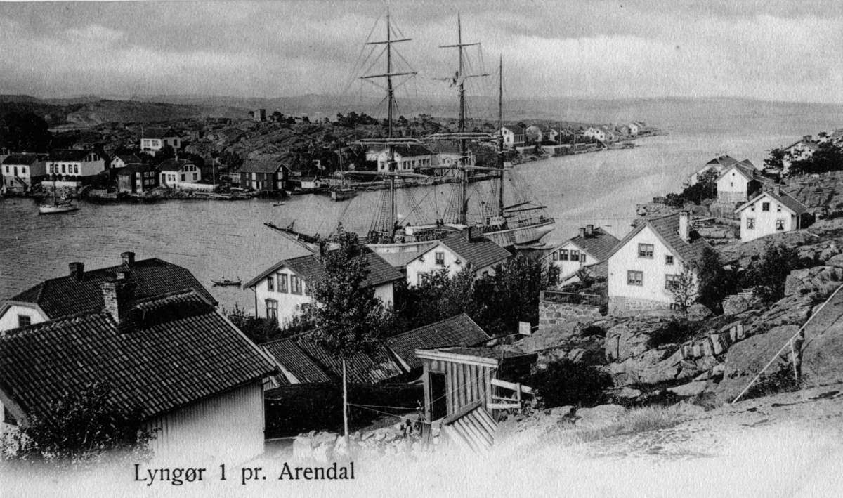 Lyngør - Odden - Husene på Lyngørsiden