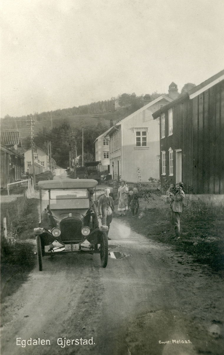 Egdalen omkring 1925