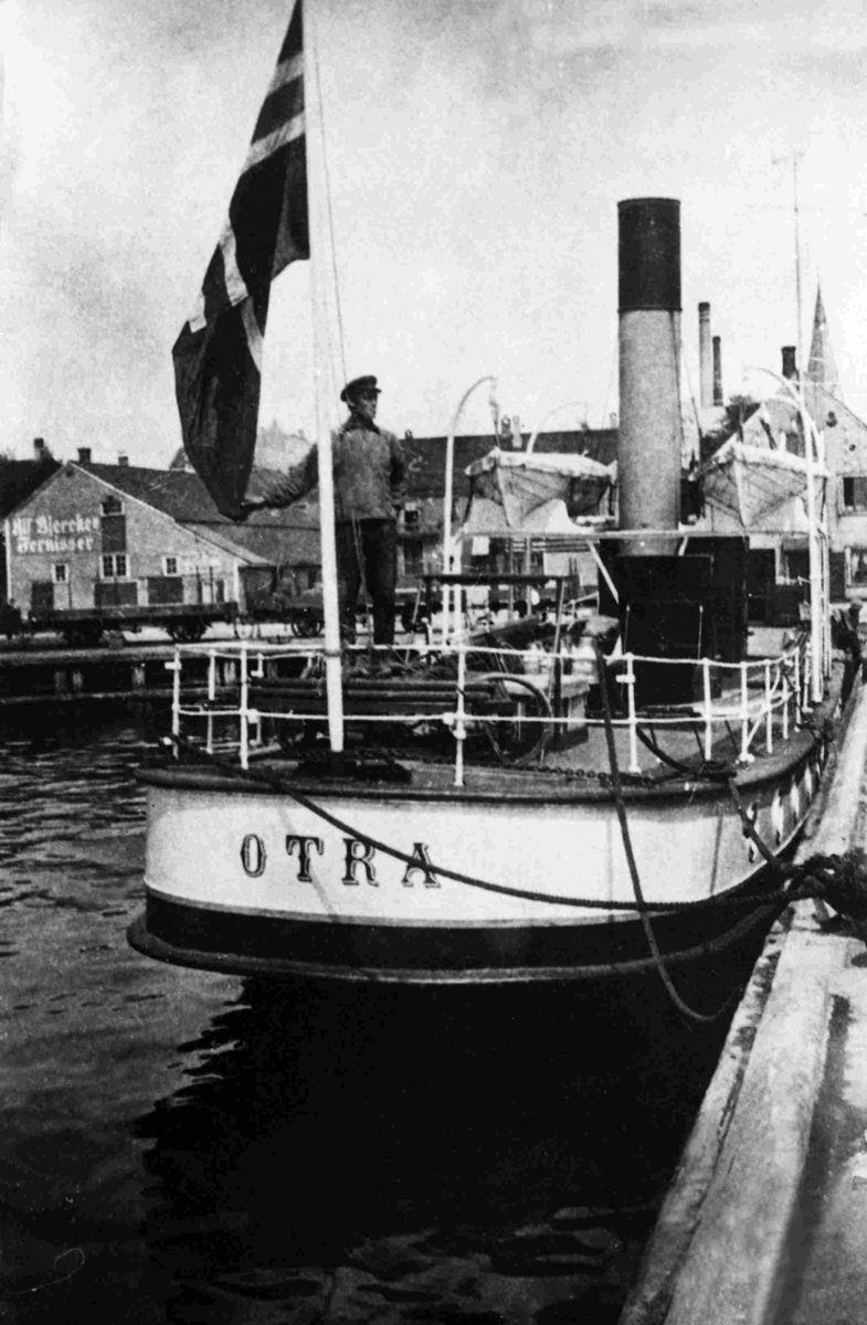 OTRA ved kai i Kristiansand