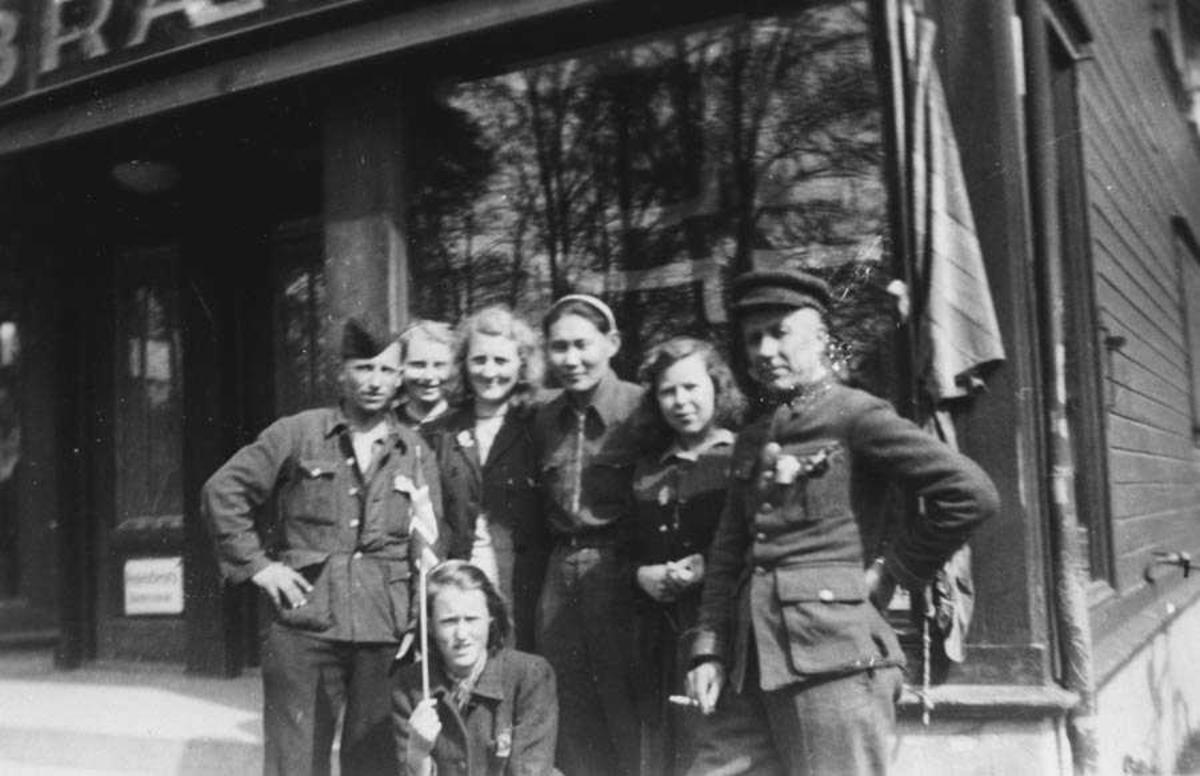 Rusiske krigsfanger og norsk ungdom