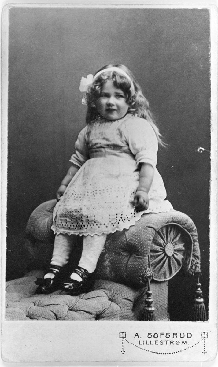 Edel Grøndahl f. Lundby 1914.