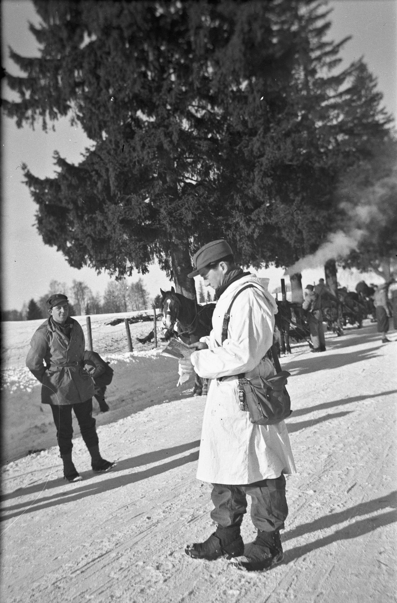 Vintermanøveren 1940.