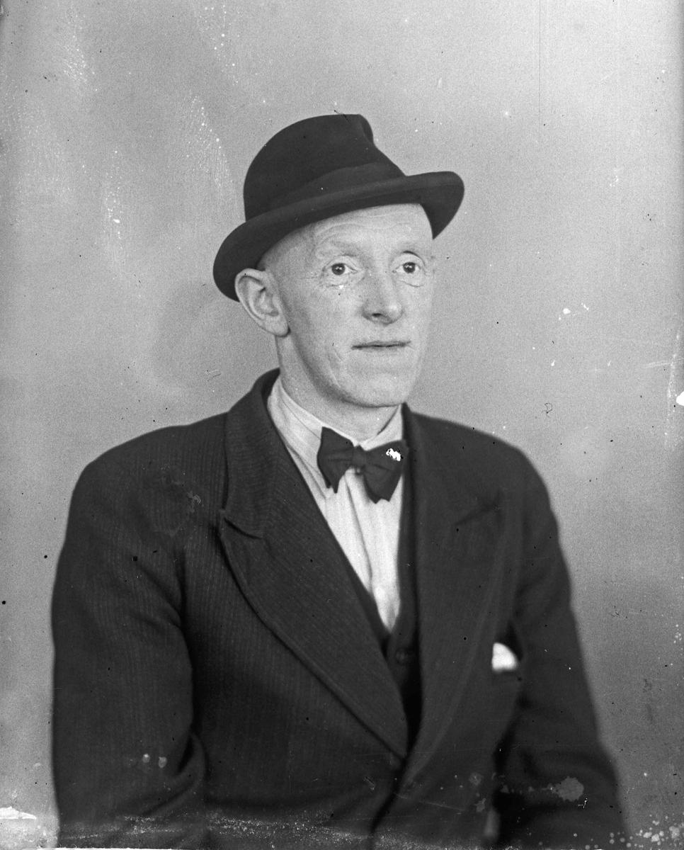 Portrett. Gunnar Johansen