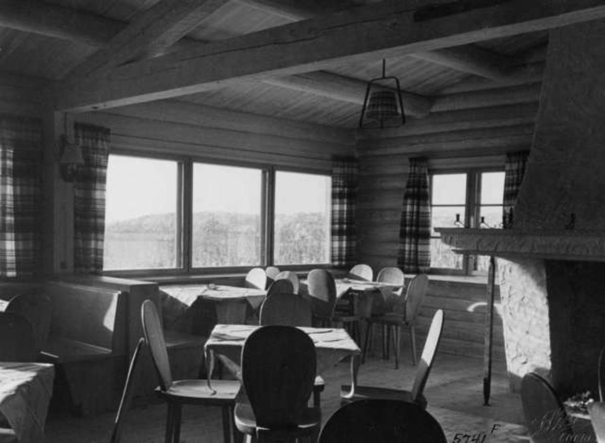 Løvliseter, Ringerike, Nordmarka, 1937.